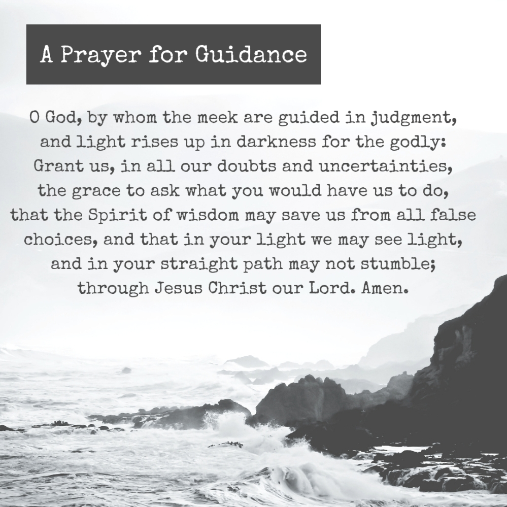 010 Direction: A Prayer for Guidance – Prayer to Go